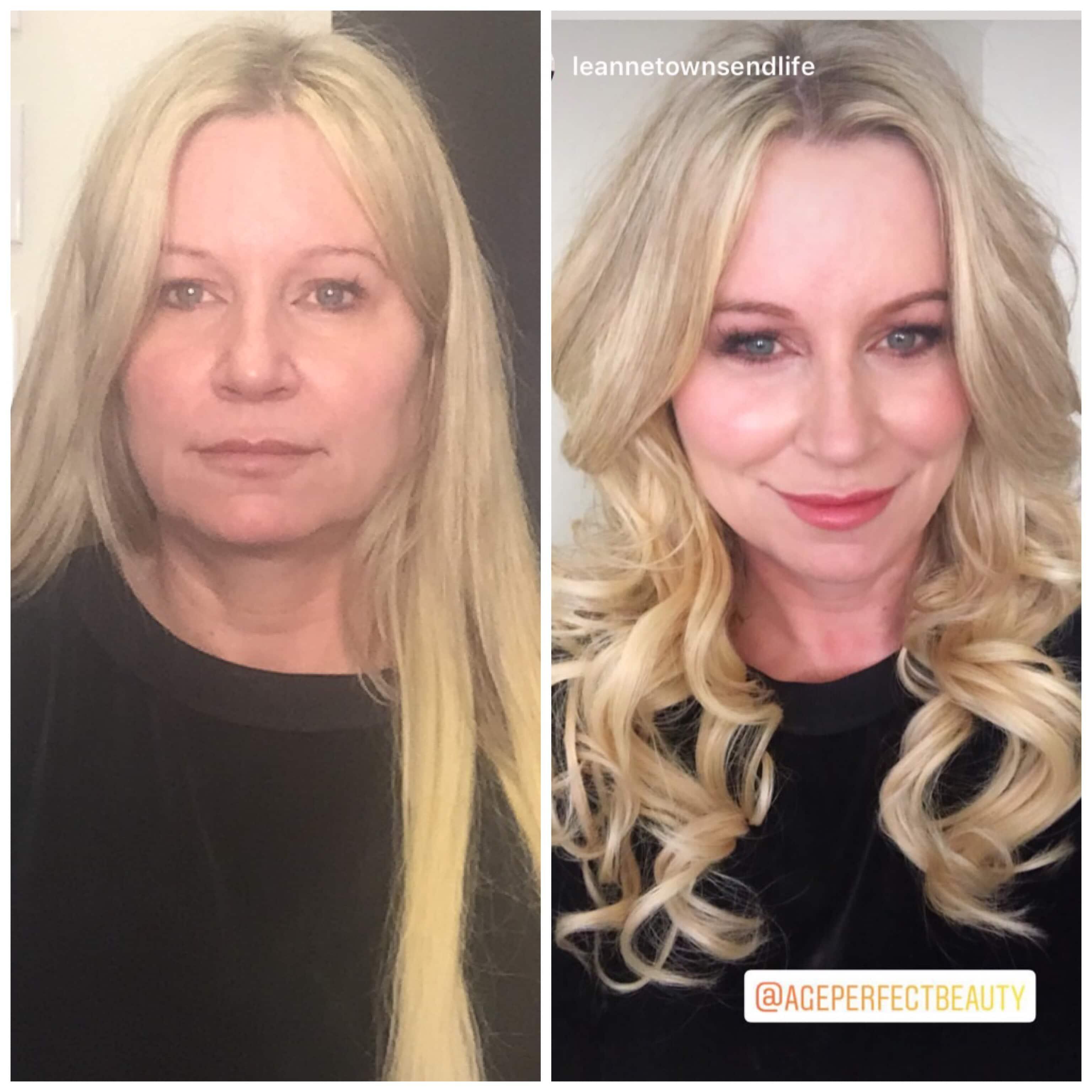 Mature women makeovers